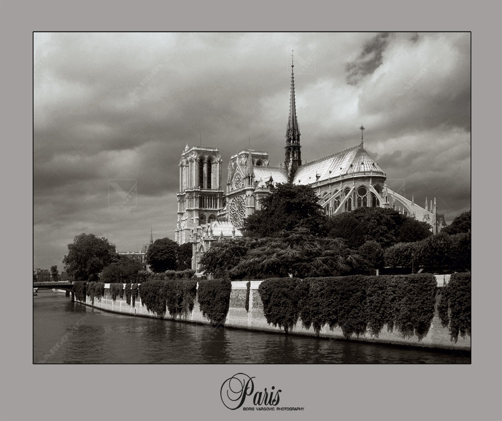 Notre Dame catedral in Paris, France by Vargovic photo