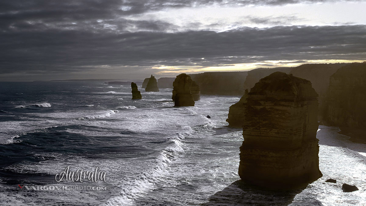 Australia Twelve Apostles Port Campbell Victoria Tasmania Great Ocean Road By Vargovic Photography