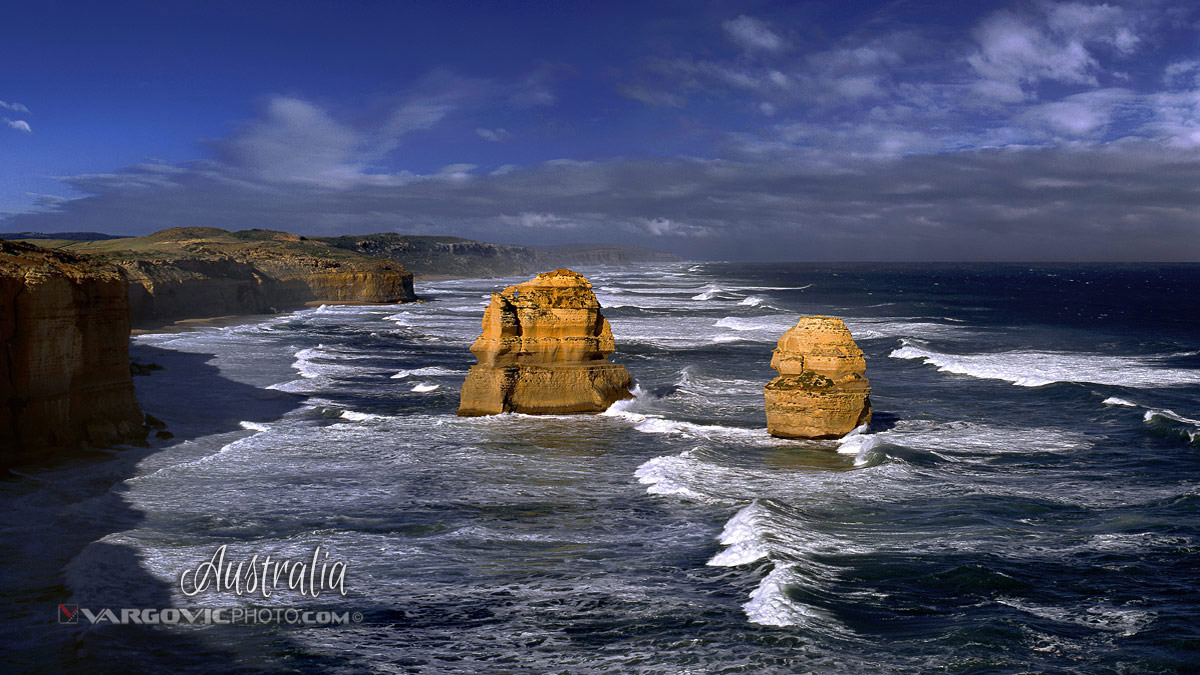 Australia Twelve Apostles Port Campbell Victoria Tasmania Great Ocean Road By Vargovic Photo